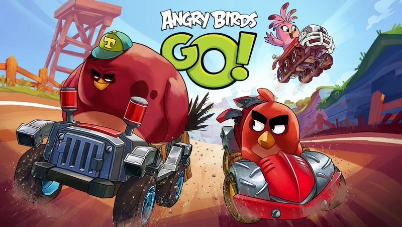Angry Birds Go 2017