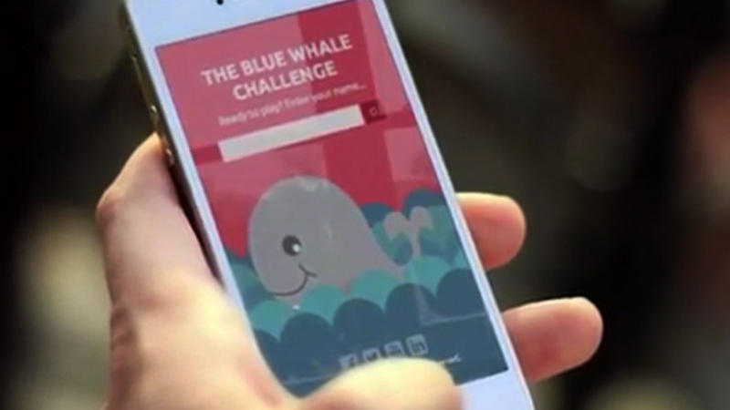 لعبة الحوت الأزرق 2