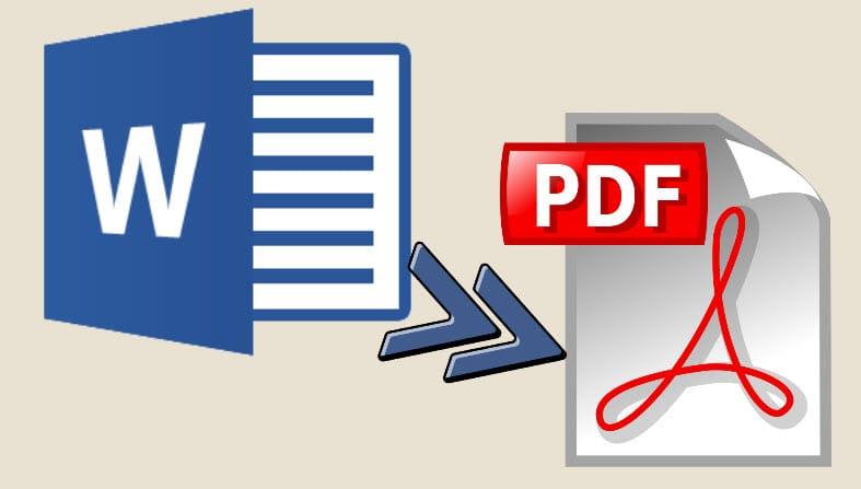 تحميل تحويل word إلى pdf